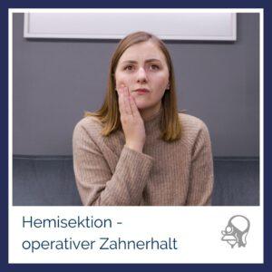 Mund Gesichts Kieferchirurgie ltg8 zikarksy nürnberg hemisektion operativer zahnerhalt